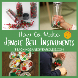 How to Make Jingle Bell Christmas Instruments for a Fun Music Activity