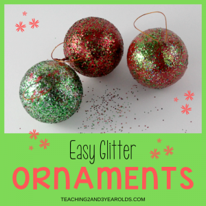 easy toddler Christmas ornament