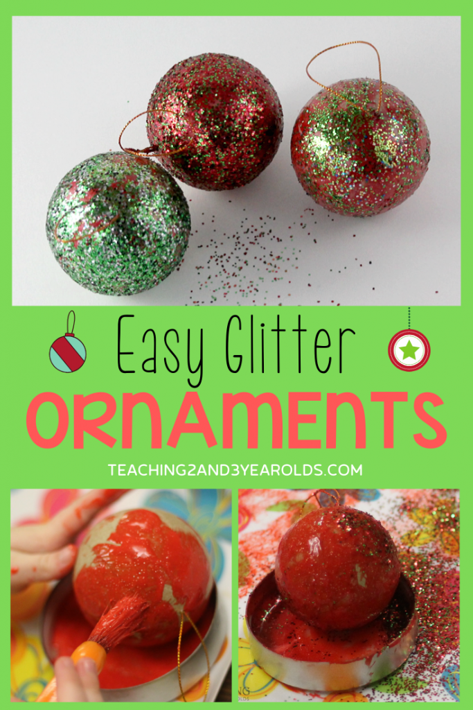 easy toddler ornament