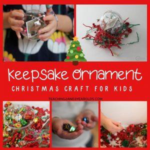 Fillable Keepsake Ornament for Kids to Make