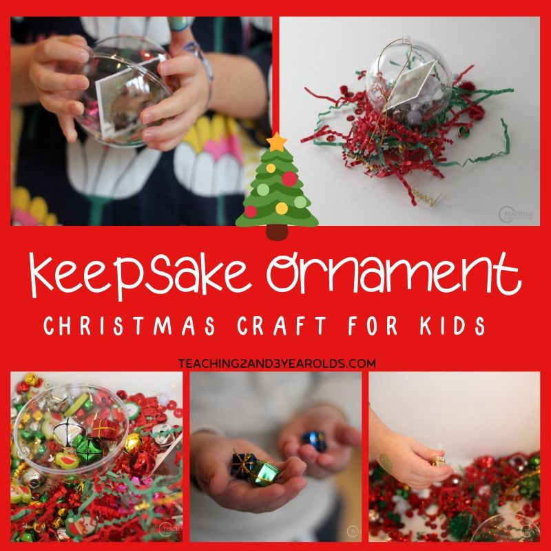 Fillable Keepsake Ornament for Kids to Make