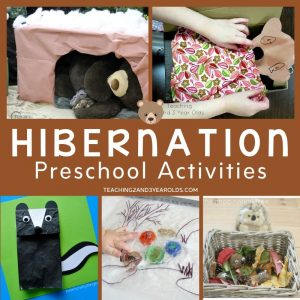 25 of the Best Preschool Hibernation Activities