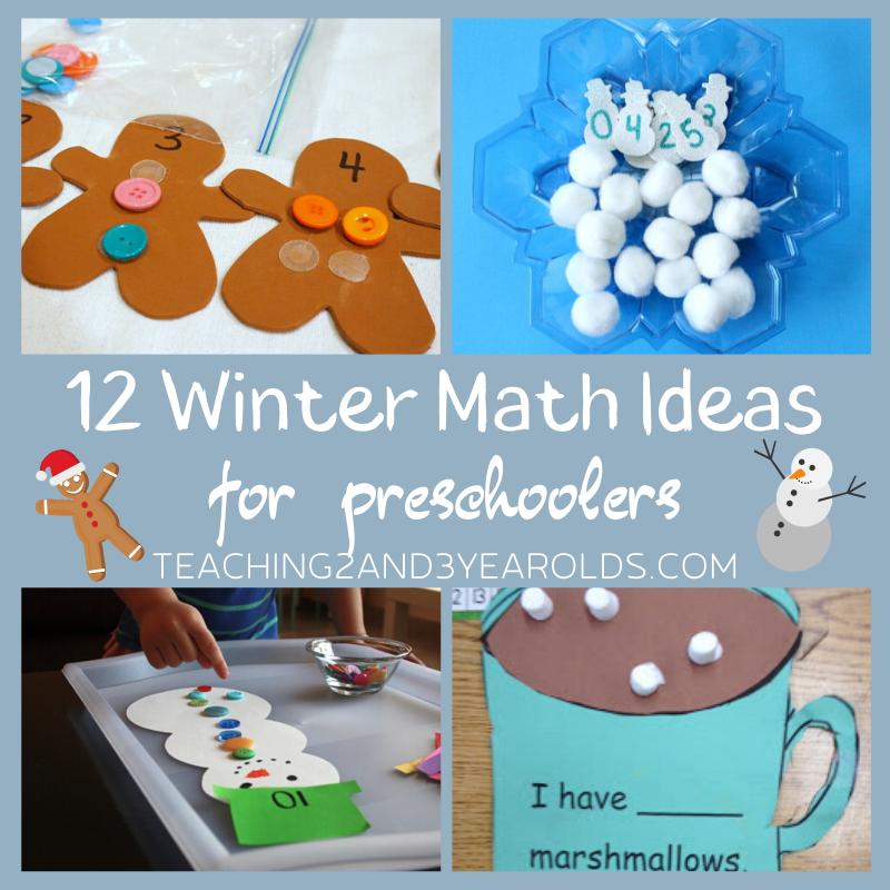12 of the Best Preschool Winter Math Activities