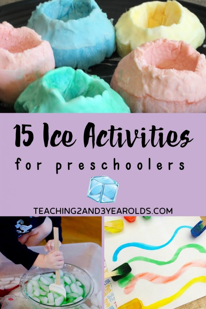 15 Fun Preschool Winter Activities that Involve Ice
