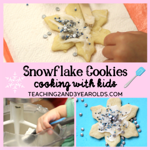 How to Make Easy Snowflake Sugar Cookies with Kids
