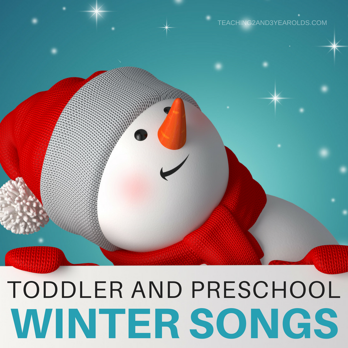 Here's my collection of favorite toddler and preschool winter songs. They are fun to sing during circle time, while in the middle of a transition, or any time you just want to get those winter wiggles out!