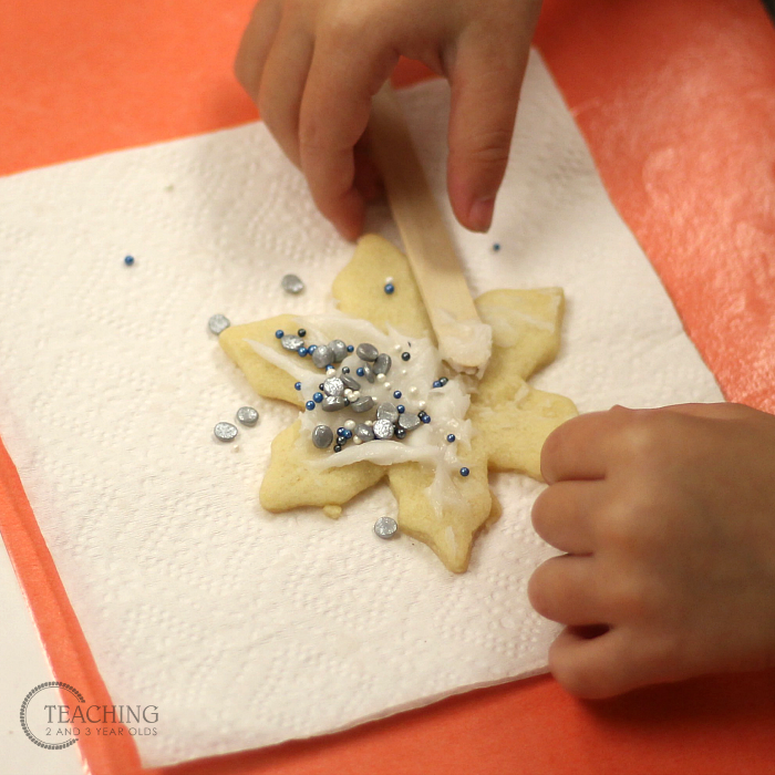 Easy Snowflake Sugar Cookies