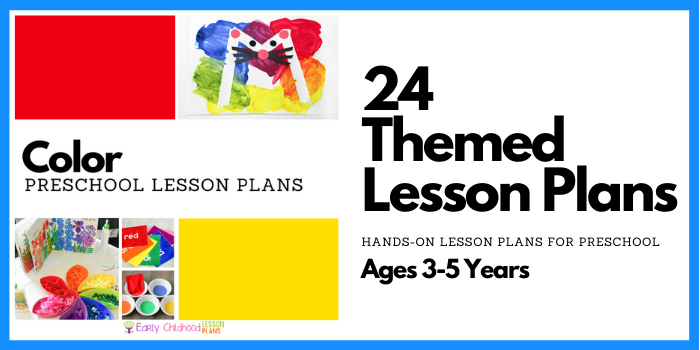 preschool lesson plans color