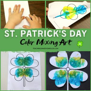 St. Patrick's Day Toddler Art