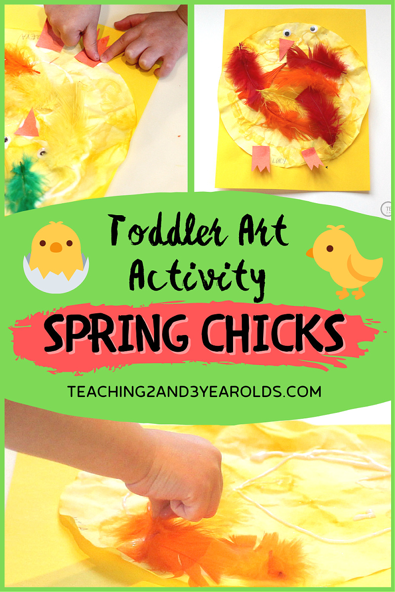 Fun Chick Spring Activity for Toddlers