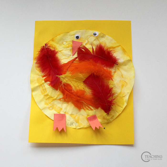 Fun Chick Spring Activity for Toddlers and Preschoolers