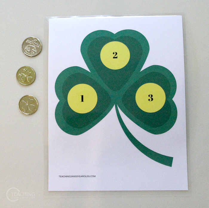 Count the Coins St. Patrick's Day Math Activity with Free Printable