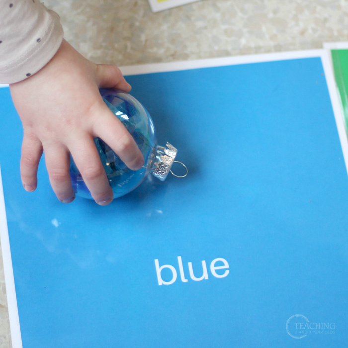Hanging Rainbow Sorting Activity for Preschoolers