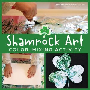 shamrock art for toddlers