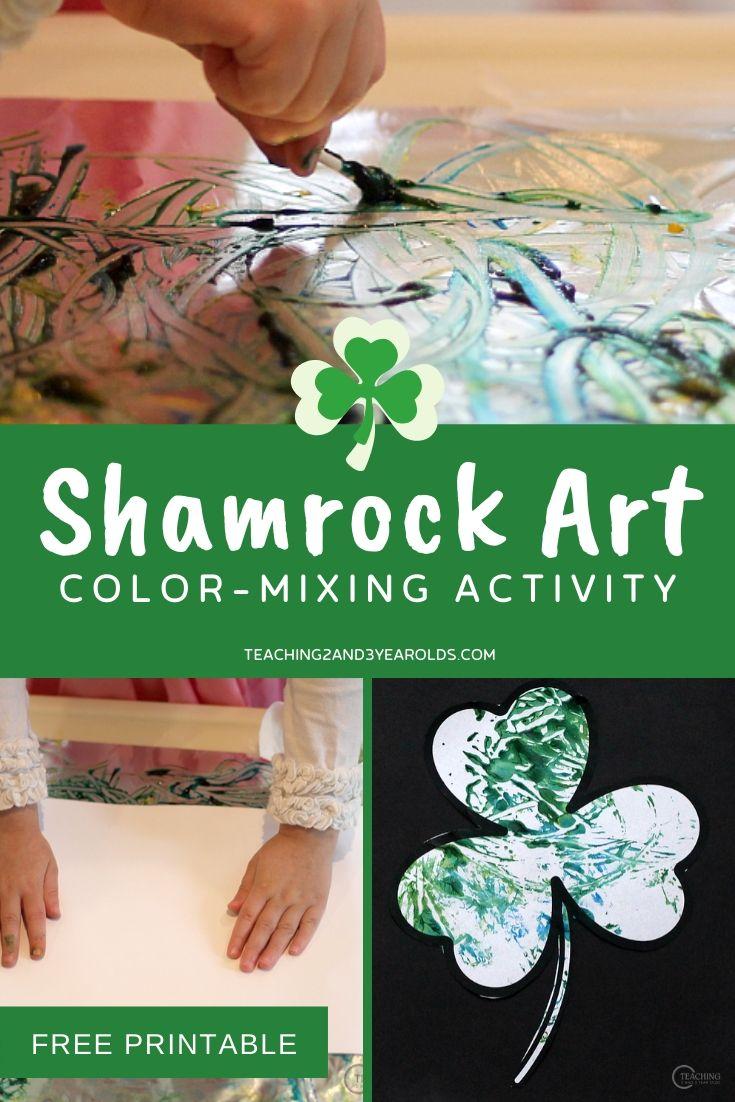 shamrock art for toddlers