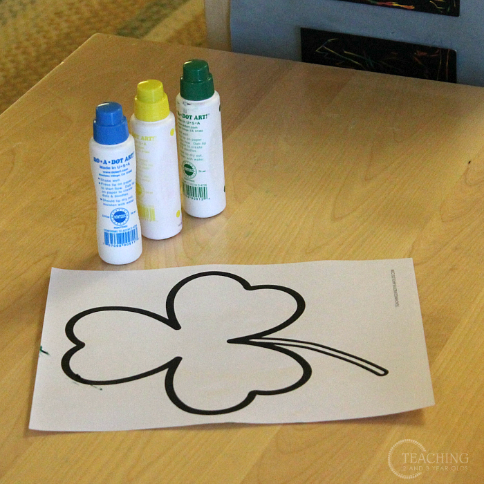 Setting Up the Toddler and Preschool Classroom for the St. Patrick's Day Theme