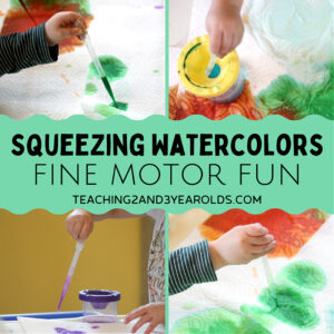Preschool Hand Strengthening Activity