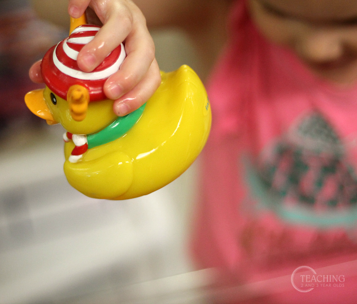 Spring Toddler Water Table with Rubber Ducks
