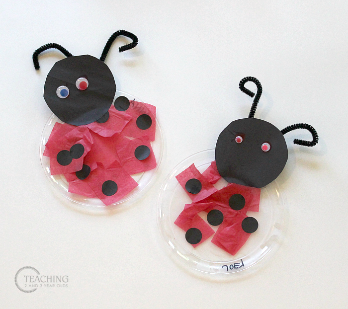 How to Turn a Ladybug Craft into a Fun Suncatcher