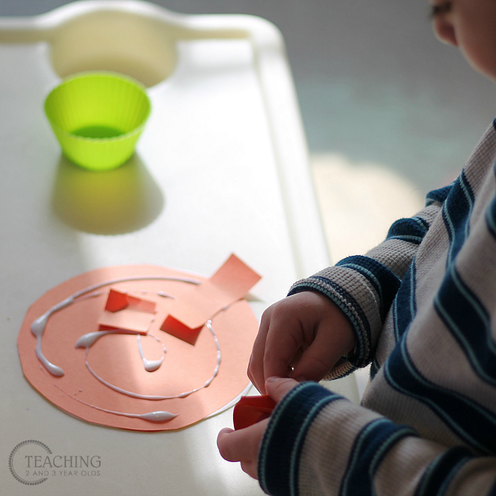 How to Put Together a Hanging Toddler Rainbow Activity