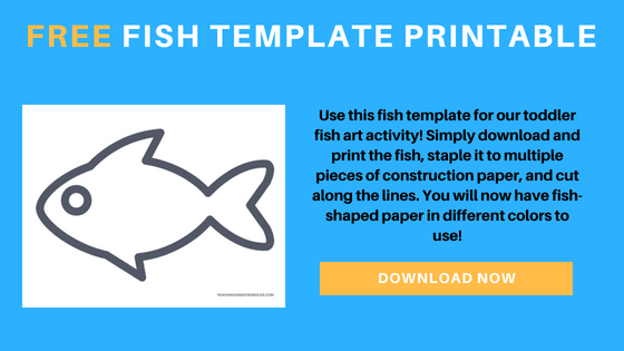 free fish template printable