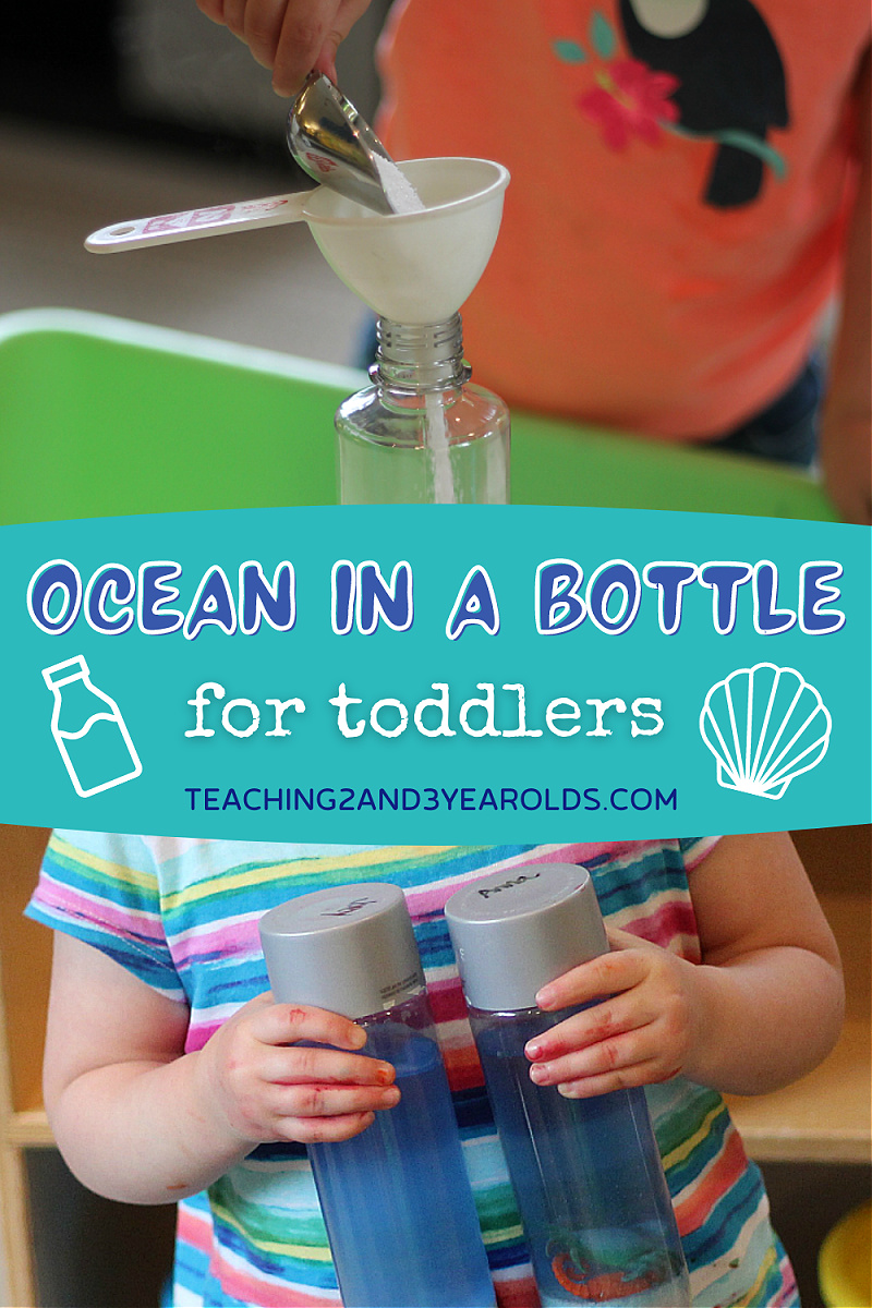 How to Put Together an Ocean Activity in a Discovery Bottle
