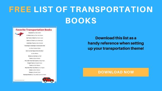preschool transportation books printable