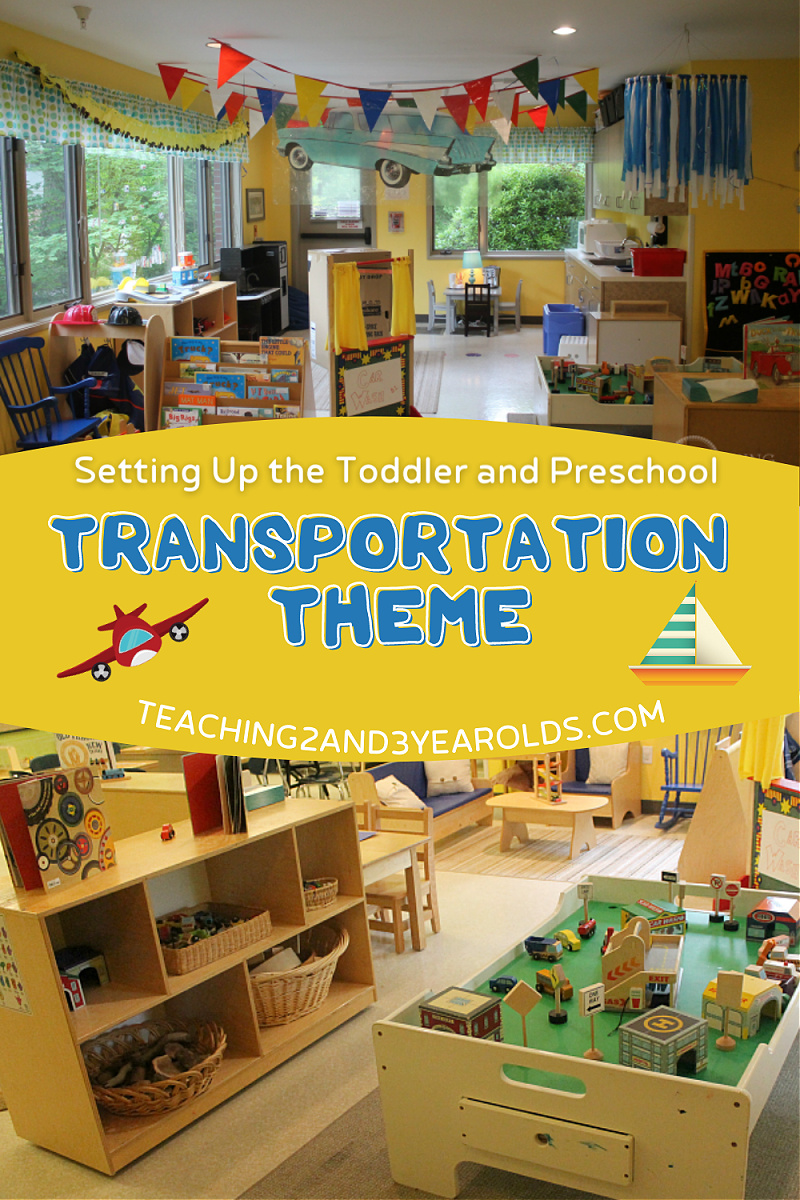 Setting Up the Transportation Theme in the Classroom