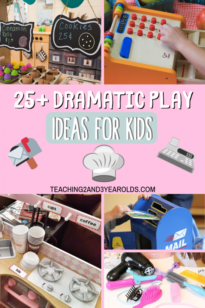 25+ Dramatic Play Activities for Toddlers and Preschoolers