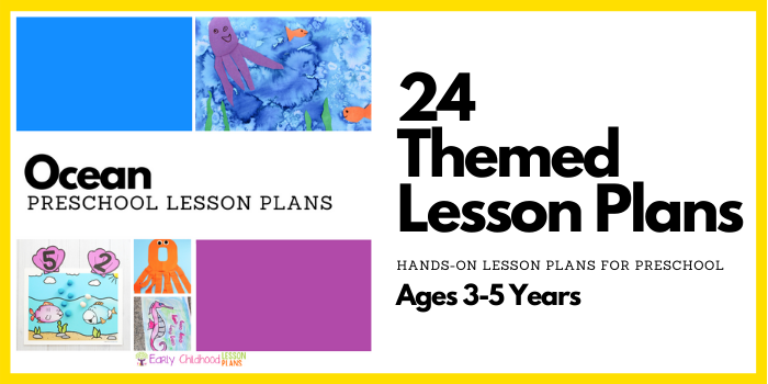 preschool lesson plans beach and ocean