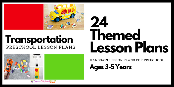 preschool lesson plans transportation