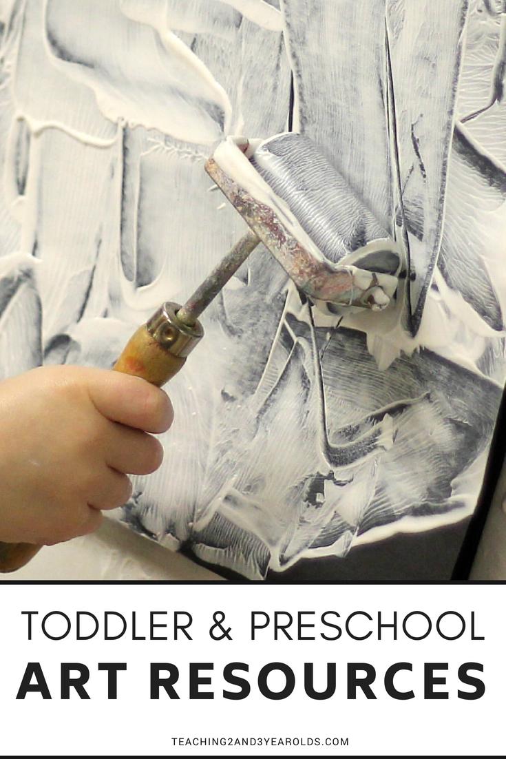Favorite Toddler and Preschool Art Activities and Supplies