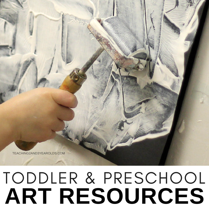 Favorite Toddler and Preschool Art Activities and Supplies