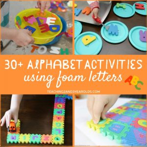 toddler and preschool literacy activities