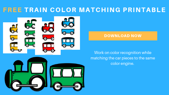 free train color matching printable