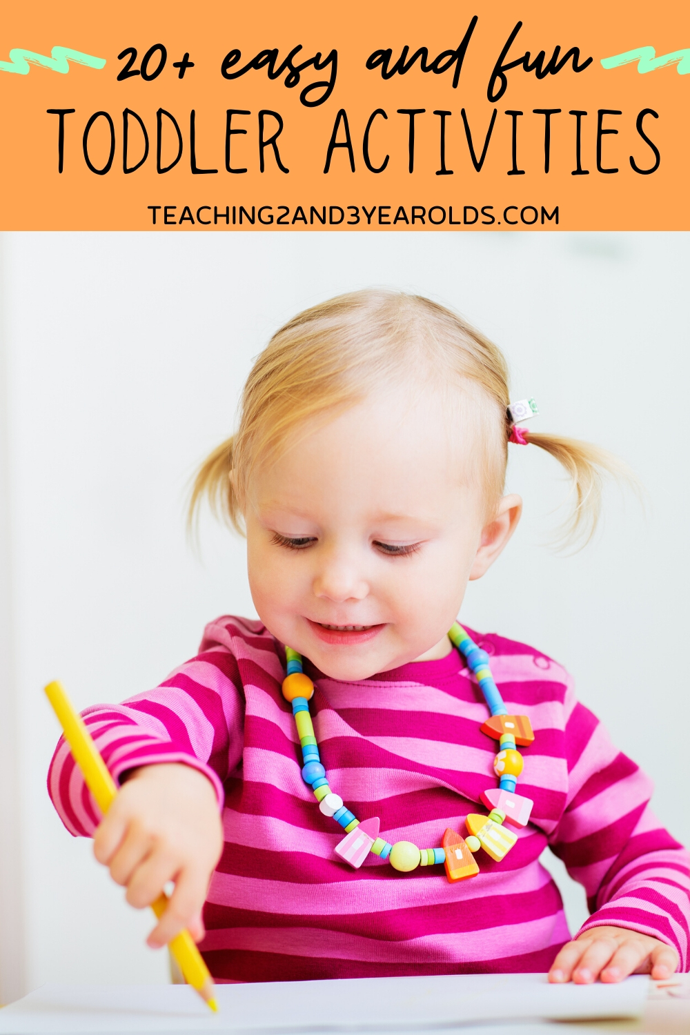 20+ Fun and Easy Toddler Activities for Home