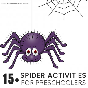 15+ Spider Activities Your Preschoolers Will Love
