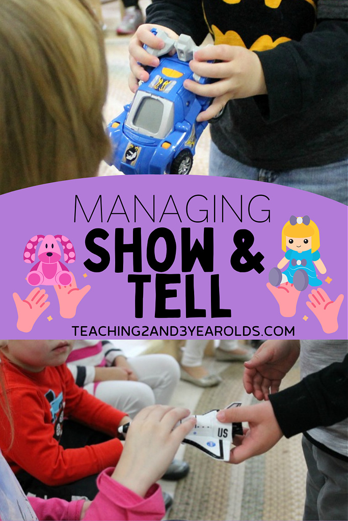 preschool show and tell