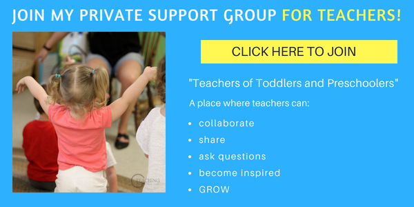 free group for toddler and preschool teachers