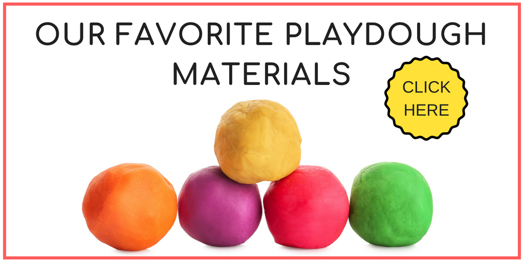 favorite playdough materials