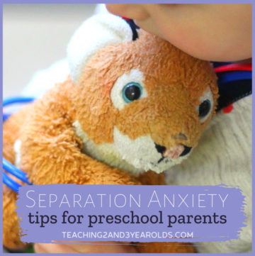 How to Deal with Separation Anxiety in Preschool