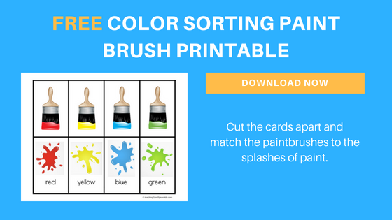 Free Color Sorting Printable