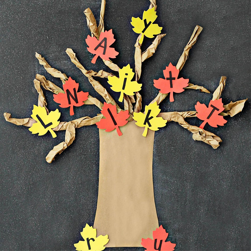preschool fall lesson plans