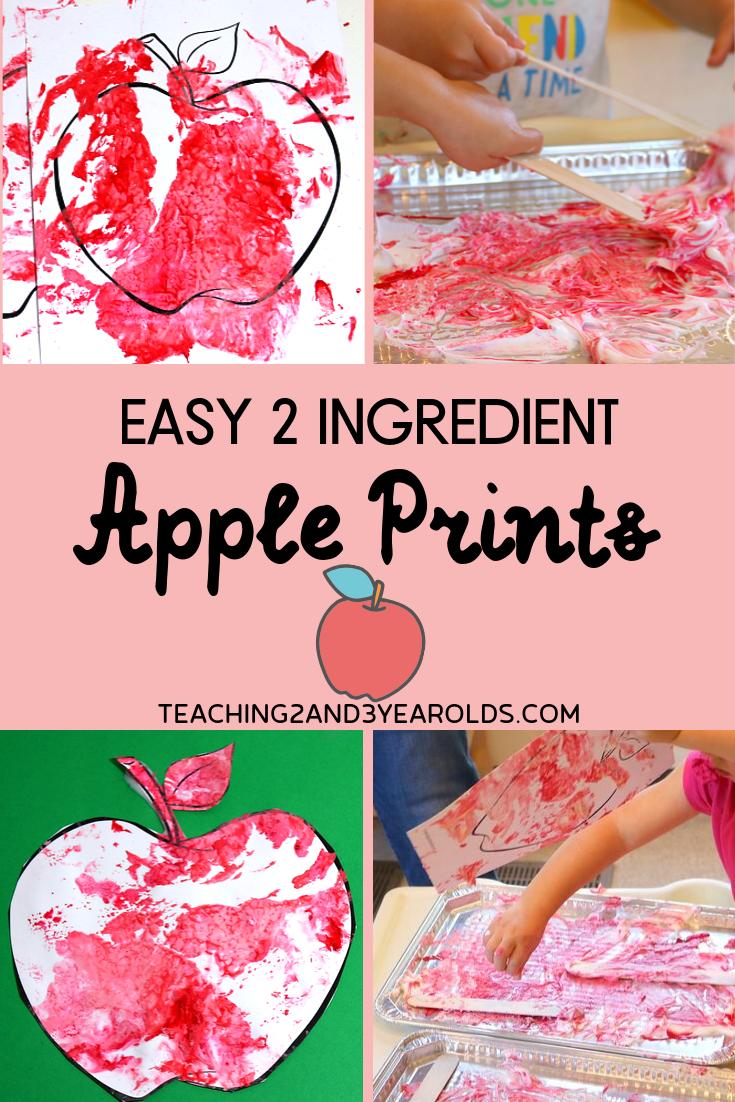 Easy Puffy Paint Art