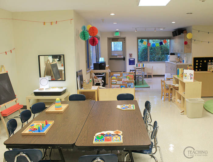 Setting up the Classroom Environment for Toddlers and Preschoolers