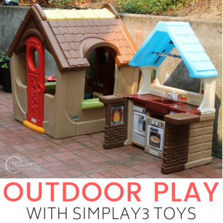Toddler and Preschool Outdoor Play with Simplay3 Toys