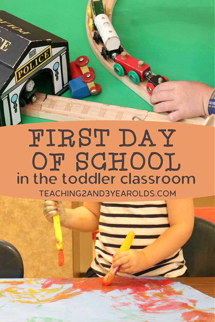 toddler back to school classroom