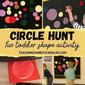 toddler circle activity