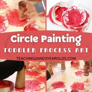 toddler circle art