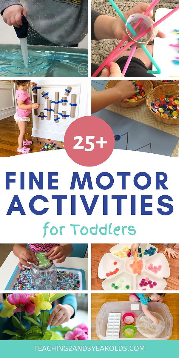 toddler fine motor activities